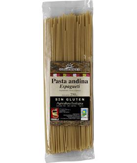 Espaguetis de arroz y quinoa Oleander 250g.