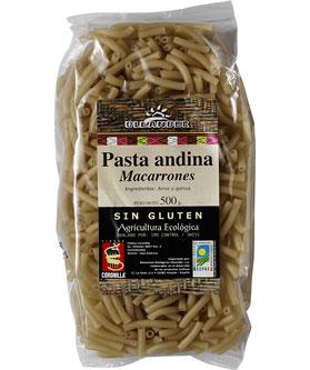 Macarrones de arroz y quinoa Oleander 500g.