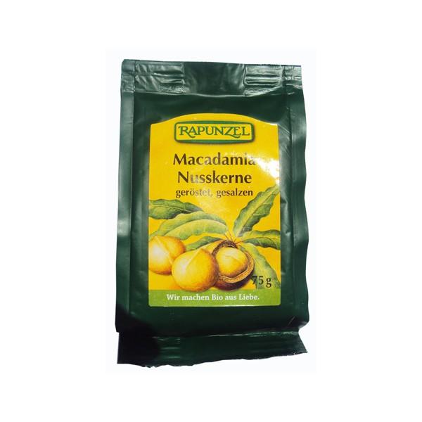 Nueces de macadamia Rapunzel 75g.
