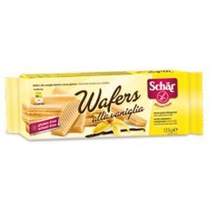 Wafer vainilla Schar 125g.