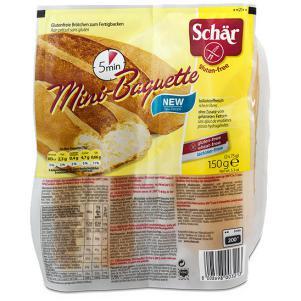 Mini baguette Schar 150g.
