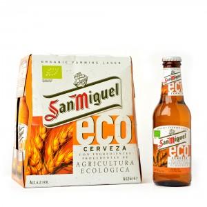Cerveza ecológica San Miguel eco 6 x 25 cl.