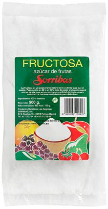 Fructosa Sorribas 500g.