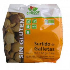 Surtido de galletas ecológicas Soria Natural 200g.
