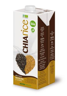 Bebida chia rice soria natural 1l.
