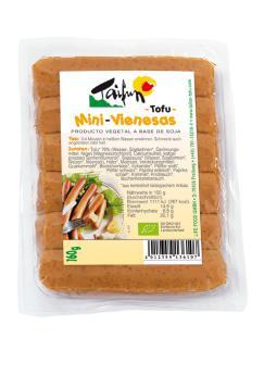 Salchichas mini vienesas de tofu bio 160g. Taifun