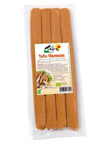 Salchichas de tofu vienesas bio Taifun 300g.