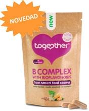 Complejo de Vitamina B + Vitamina C y bioflavonoides 30 cápsulas