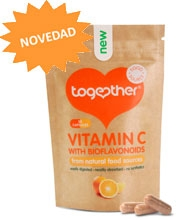T vitamina c con bioflavonoides 30 cápsulas