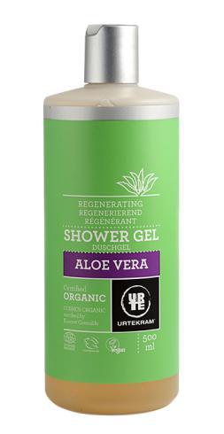 Gel de baño Aloe Vera orgánico urtekram 500ml.