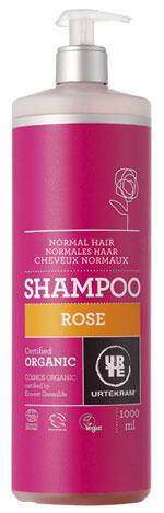 Champú rosas orgánico cabello normal Urtekram 1l.