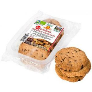 Cookies de espelta y chocolate vegetalia 140g.