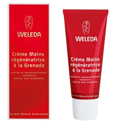 Crema manos regeneradora de granada Weleda 50ml.