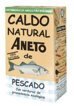 Caldo de pescado con verduras bio 1l.
