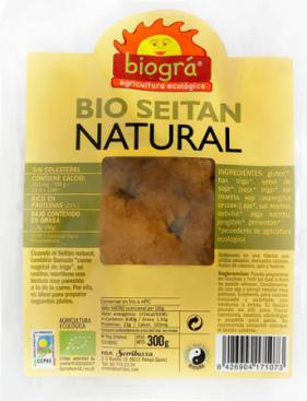 Seitán natural fresco 300g.