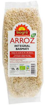 Arroz basmati integral 500g.