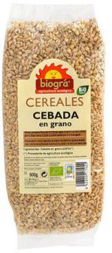 Cebada en grano Biográ 500g.