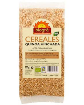 Quinoa hinchada 125g.