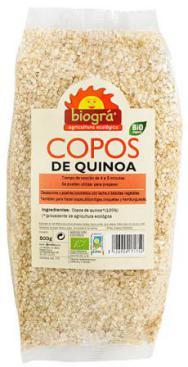 Copos de quinoa Biográ 300g.