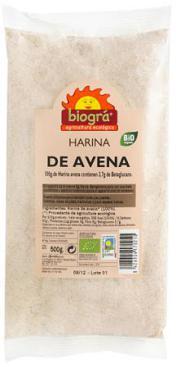 Harina de avena Biográ 200g.