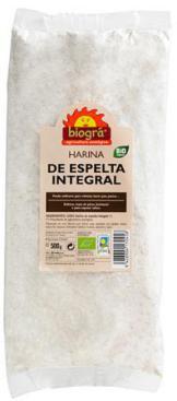 Harina de espelta integral Biográ 500g.