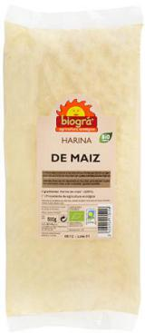 Harina de maíz Biográ 500g.