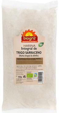 Harina de trigo sarraceno integral 500g.