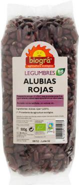 Alubias rojas Biográ 500g.