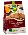 Galletas de espelta choco y naranja bio 125g.