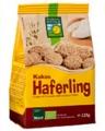 Haferling galleta crujiente de avena con coco bio 125g.