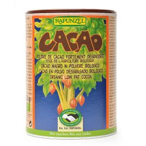 Cacao desgrasado polvo Rapunzel 250g.