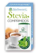 Stevia Stesweet 250 comprimidos