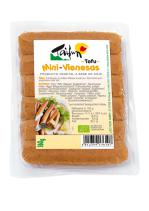 Salchichas mini vienesas de tofu bio 160g.