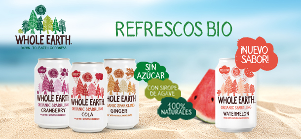 Refrescos Whole Earth