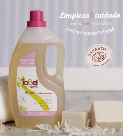 Jabón bebés y pieles delicadas eco 1500ml.