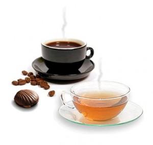 Cafés, tés e infusiones