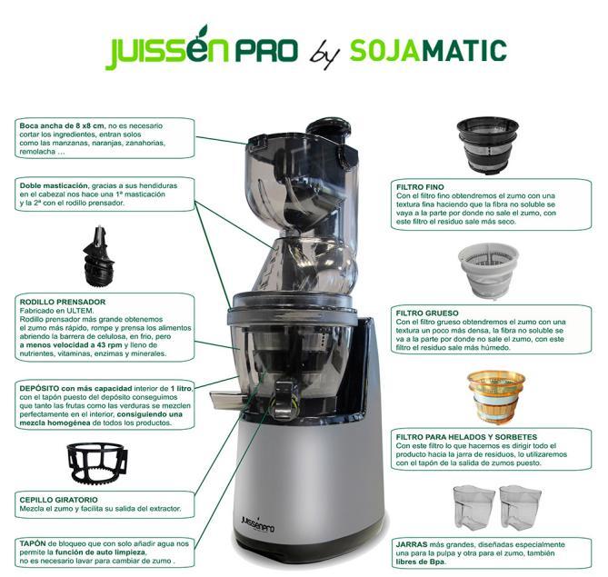 Juissen PRO Sojamatic + Libro 400 recetas