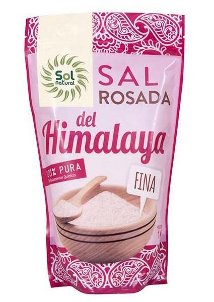 Sal Del Himalaya Fina Sol Natural 1kg