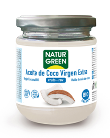 Aceite de coco virgen Naturgreen 430ml.