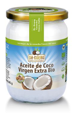 Aceite de coco virgen extra bio Dr. Goerg 500ml.