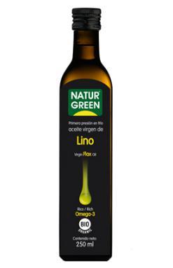 Aceite de Lino Naturgreen 250ml.