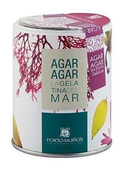 Alga agar agar en polvo Porto Muiños 100 gramos