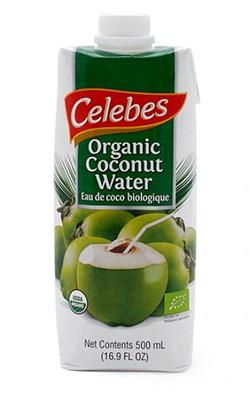 Agua de coco ecológica Celebes