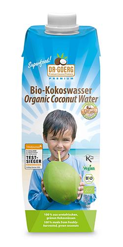 Agua de coco ecológico Dr Goerg 1 litro