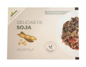 Delicias de soja Ahimsa 250g.