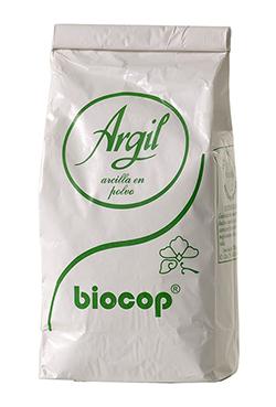 Arcilla blanca Argil para uso externo Biocop 1kg.