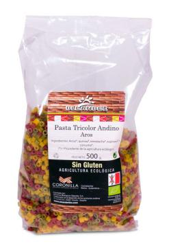 Aros pasta tricolor andino Oleander 500g.