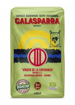 Arroz semi integral Calasparra 1kg.