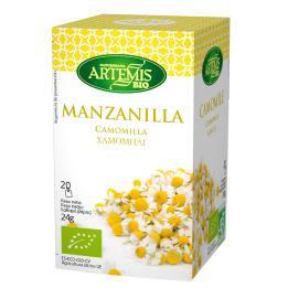 Manzanilla Artemis 20 filtros