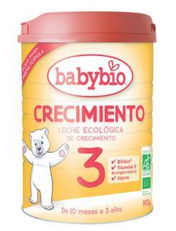 Leche infantil ecológica de crecimiento 3 babybio
